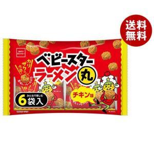 【送料無料】おやつカンパニー ベビースターラーメン丸 チキン味6袋入 138g(23g×6)×12袋入|misonoya