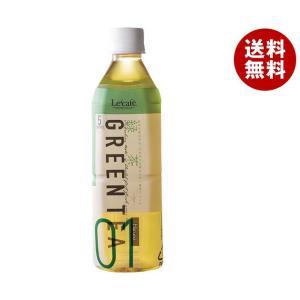 【送料無料】HARUNA(ハルナ) ルカフェ 緑茶 500mlペットボトル×24本入|misonoya