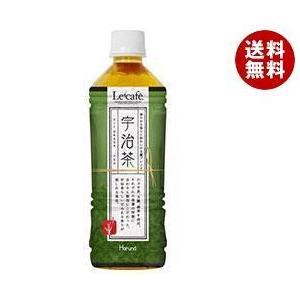 【送料無料】【2ケースセット】HARUNA(ハルナ) ルカフェ 宇治茶 500mlペットボトル×24本入×(2ケース)|misonoya