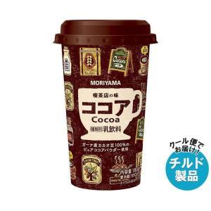 【送料無料】【チルド(冷蔵)商品】守山乳業 喫茶店の味 アイスココア 180g×12本入|misonoya