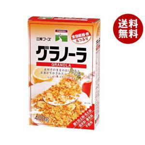 【送料無料】三育フーズ グラノーラ 400g×12個入|misonoya