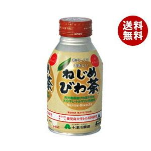 【送料無料】十津川農場 ねじめびわ茶 290mlボトル缶×24本入|misonoya