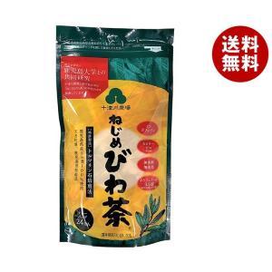 【送料無料】十津川農場 ねじめびわ茶24 (2gティーバッグ 24包入) 24P×2袋入|misonoya