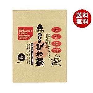 【送料無料】十津川農場 ねじめびわ茶80 (2gティーバッグ 80包入) 80P×1袋入|misonoya