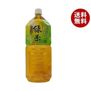 【送料無料】MRI 京都の銘水使用 おいしい緑茶 2Lペットボトル×6本入|misonoya