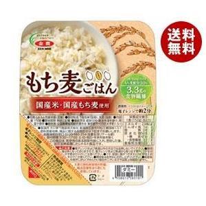 【送料無料】JA全農 国産 もち麦ごはん 150g×24(6×4)個入 misonoya
