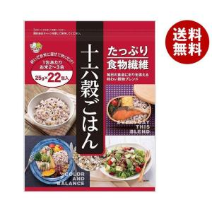 【送料無料】種商 十六穀ごはん (25g×22)×6袋入|misonoya