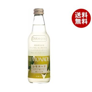 【送料無料】川崎飲料 ドルチェポップレモネード 340ml瓶×24本入|misonoya