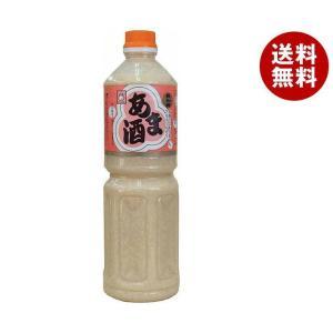 【送料無料】ヤマク食品 あま酒 1Lペットボトル×6本入|misonoya