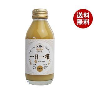 【送料無料】ヤマト醤油味噌 生玄米甘酒 一日一糀 140ml瓶×24本入|misonoya