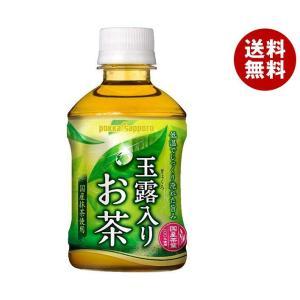 【送料無料】ポッカサッポロ 玉露入りお茶 275mlペットボトル×24本入 misonoya