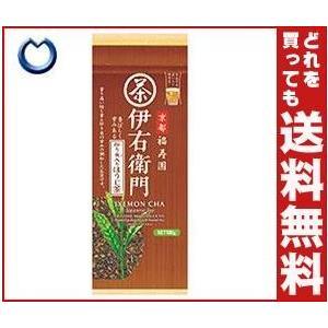 【送料無料】宇治の露製茶 伊右衛門 炒り米入りほうじ茶 100g×12袋入 misonoya