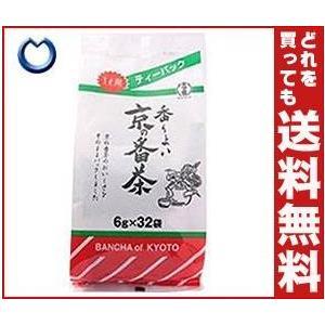 【送料無料】宇治の露製茶 宇治の露 京の番茶 ティーバッグ 6g×32P×12袋入 misonoya