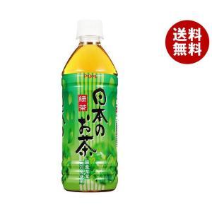 【送料無料】えひめ飲料 POM(ポン) 日本のお茶 500mlペットボトル×24本入|misonoya