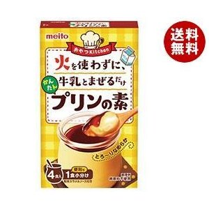 【送料無料】名糖産業 かんたんプリンの素 4P×6箱入 misonoya