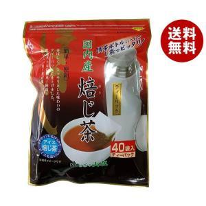 【送料無料】山城物産 ボトルにピッタリほうじ茶 ティーバッグ 2g×40P×20袋入 misonoya