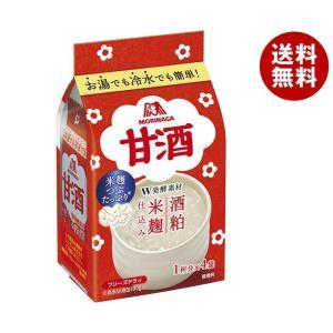送料無料 森永製菓 甘酒 4袋×10袋入