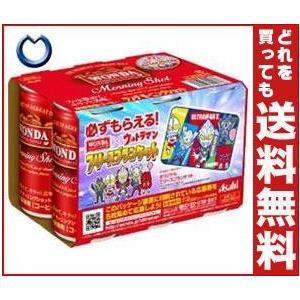 【送料無料】【2ケースセット】【賞味期限17.05.8】アサヒ飲料 WONDA(ワンダ) モーニングショット(6本パック) 185g缶×30本入×(2ケース)