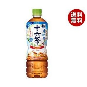 【送料無料】アサヒ飲料 脱水対策 十六茶 630mlペットボトル×24本入|misonoya