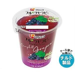 【送料無料】【チルド(冷蔵)商品】フジッコ フルーツセラピー キャンベルグレープ 150g×12個入|misonoya