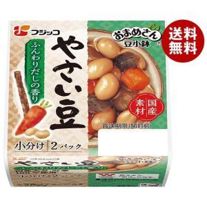 【送料無料】フジッコ おまめさん 豆小鉢 やさい豆 65g×2パック×12個入|misonoya
