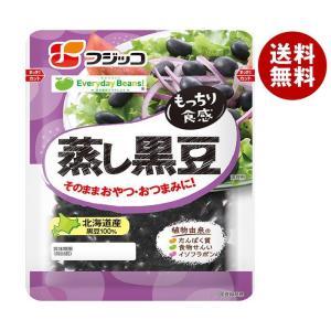 【送料無料】フジッコ 蒸し黒豆 65g×10袋入|misonoya