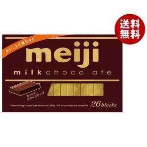 送料無料 【2ケースセット】明治 ミルクチョコレートBOX 120g(26枚)×6箱入×(2ケース)