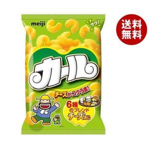 【送料無料】明治 カール チーズあじ 64g×10袋入