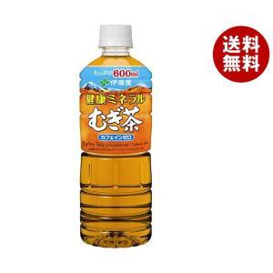 【送料無料】伊藤園 健康ミネラルむぎ茶 600mlペットボトル×24本入|misonoya