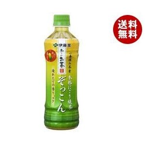 【送料無料】伊藤園 お〜いお茶 ぞっこん 500mlペットボトル×24本入