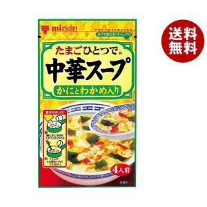 【送料無料】ミツカン 中華スープ かにとわかめ入り 30g×20(10×2)袋入 misonoya