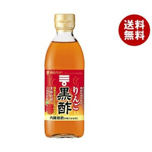 【送料無料】ミツカン りんご黒酢 【機能性表示食品】 500ml瓶×6本入|misonoya