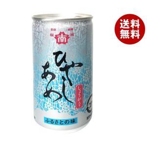 【送料無料】桜南食品 ひやしあめ(あめゆ) 190g缶×30本入|misonoya
