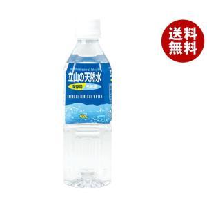 【送料無料】 匠美 立山の天然水 500mlペットボトル×2...
