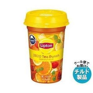 【送料無料】【2ケースセット】【チルド(冷蔵)商品】森永乳業 リプトン Summer Tea Punch (サマー・ティーパンチ) 240ml×10本入×(2ケース)|misonoya