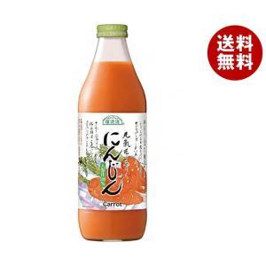 【送料無料】マルカイ 順造選 にんじん 1000ml瓶×12(6×2)本入|misonoya