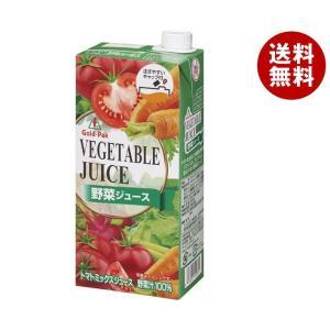 送料無料 ゴールドパック 野菜ジュース 1L紙パック×6本入 MISONOYA PayPayモール店