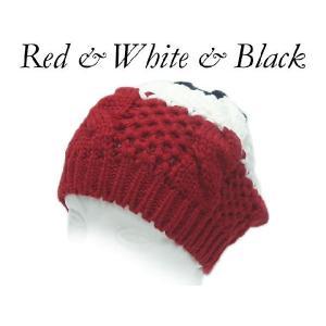 帽子 メール便送料無料 帽子 レディース ベレー帽 ニットベレー 帽子 3カラー ニット帽|missa-more