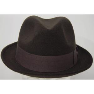 帽子 ハット ぼうし 帽子 中折れフェルトハット・ お父さん・おじいちゃんに 敬老の日 父の日|missa-more