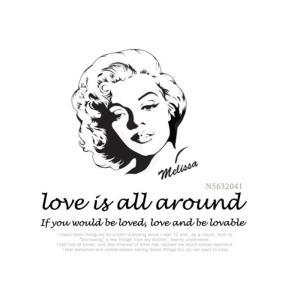 メール便送料無料 love is all around スケッチポーチ♪