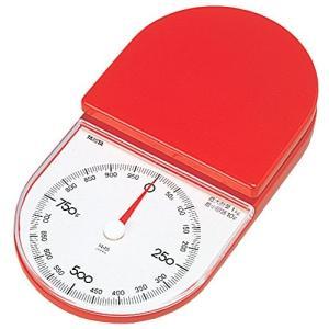 タニタ クッキングスケール キッチン はかり 料理 アナログ 1kg 5g単位 レッド 1445-RD|mississippi