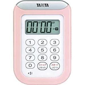 タニタ キッチン タイマー 防水 マグネット付き 100分 ピンク TD-378 PK|mississippi