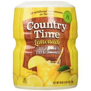 カントリー タイム レモネード Country Time Lemonade 19oz 538g|mississippi