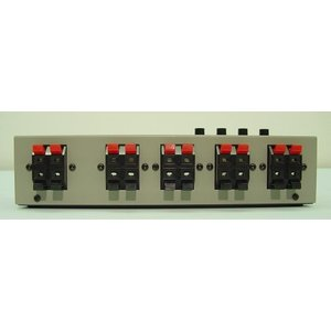 ラックスマン スピーカーセレクター (1台 シルバーグレー W:240xD:95xH:65mm 750g) AS-5III|mississippi