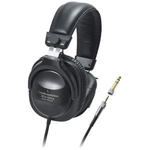 audio-technica スタジオモニター ステレオヘッドホン ATH-SX1a 日本製 ブラック|mississippi