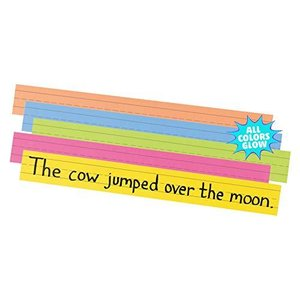 Sentence Strips 24 x 3 Assorted Bright Colors 100/Pack (並行輸入品)|mississippi