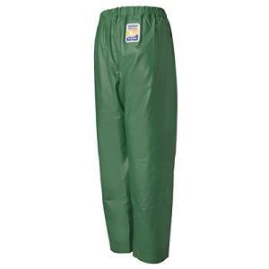 ロゴス 産業用レインウェア マリンエクセル 並ズボン膝当て付 12050362 グリーン L|mississippi