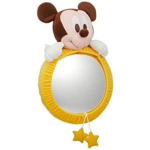 ナポレックス ディズニー 見てみてミラー ベビーミッキー 大型で割れにくい樹脂ミラー BD-102|mississippi