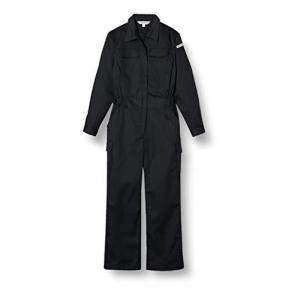 [フォーキャスト] つなぎ 作業服 すっきりシルエット 長袖 67999 ブラック L|mississippi