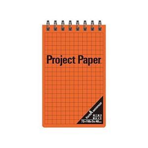 オキナ プロジェクト耐水メモ 方眼罫5mm 40枚 オレンジ PW2569 / 5セット|mississippi